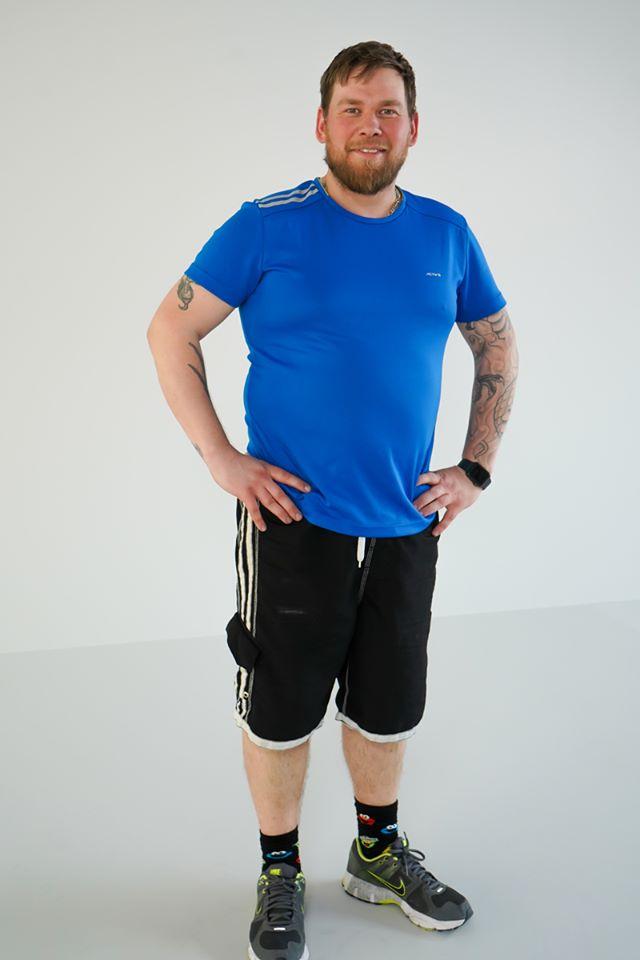 Morten- deltaker på treningsprogram kom i form på 8 uker
