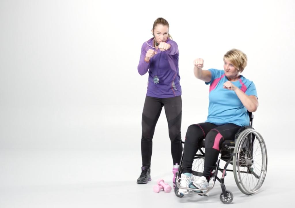 Trening for rullestolbrukere